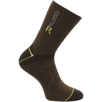 Clothes accessories Men Socks Regatta Two Layer Blister Protection Socks Brown Brown