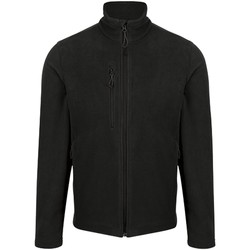 Clothing Men Fleeces Professional HONESTLY MADE Recycled Fleece Jacket Black