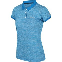 Clothing Women T-shirts & Polo shirts Regatta REMEX II TShirt Shock Orange Blue Blue