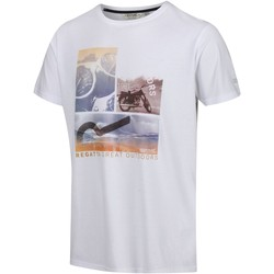 Clothing Men T-shirts & Polo shirts Regatta CLINE IV TShirt White