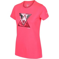 Clothing Women Short-sleeved t-shirts Regatta FINGAL V Tshirt Pink