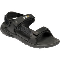 Shoes Men Outdoor sandals Regatta Marine Web Walking Sandals Black Black