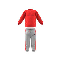 Clothing Children Sets & Outfits adidas Performance MH LOG JOG FL Red / Grey