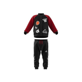 Clothing Boy Sets & Outfits adidas Performance COLL MIX TS Black / Red