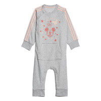 Clothing Girl Sleepsuits adidas Performance INF DY MM ONE White