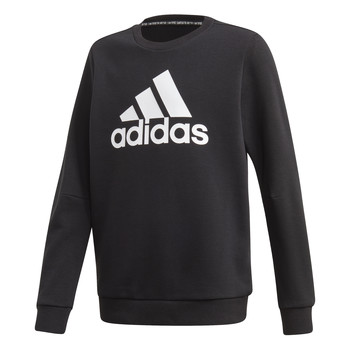 Clothing Boy Sweaters adidas Performance JB MH CREW Black