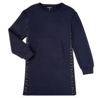 Clothing Girl Short Dresses Emporio Armani 6H3A07-1JDSZ-0920 Marine