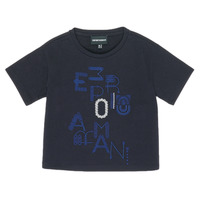 Clothing Girl Short-sleeved t-shirts Emporio Armani 6H3T7R-2J4CZ-0926 Marine