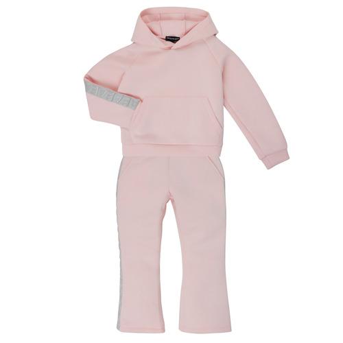 Clothing Girl Tracksuits Emporio Armani 6H3V01-1JDSZ-0356 Pink