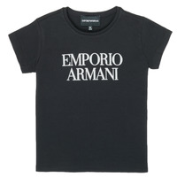 Clothing Girl Short-sleeved t-shirts Emporio Armani 8N3T03-3J08Z-0999 Black