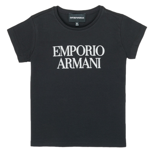 Clothing Girl Short-sleeved t-shirts Emporio Armani 8N3T03-3J08Z-0999 Black