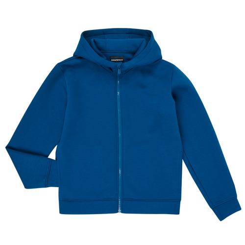 Clothing Boy Sweaters Emporio Armani 6H4BJM-1JDSZ-0975 Blue