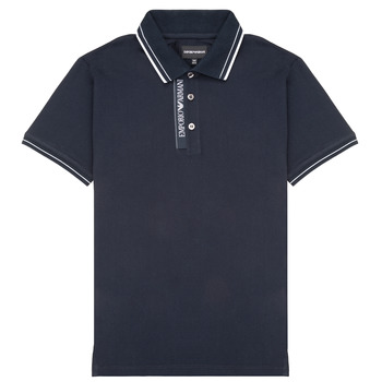 Clothing Boy Short-sleeved polo shirts Emporio Armani 6H4F79-1JRNZ-0920 Marine