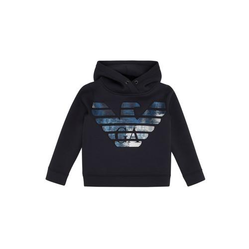 Clothing Boy Sweaters Emporio Armani 6H4MA9-1JDSZ-0920 Marine