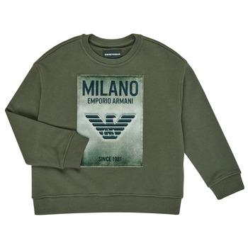 Clothing Boy Sweaters Emporio Armani 6H4MM1-4J3BZ-0564 Kaki