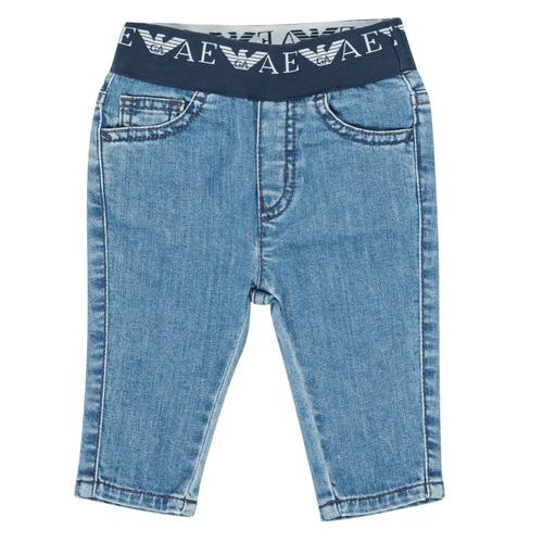 Clothing Boy Slim jeans Emporio Armani 6HHJ07-4D29Z-0942 Blue