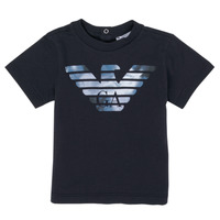 Clothing Boy Short-sleeved t-shirts Emporio Armani 6HHTA9-1JDXZ-0920 Marine