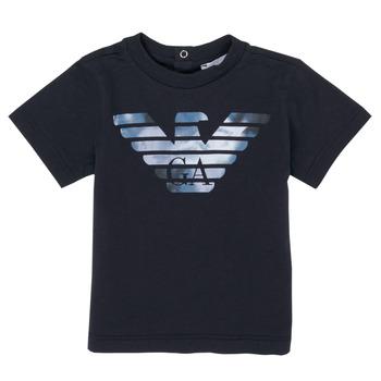 Clothing Boy Short-sleeved t-shirts Emporio Armani 6HHTA9-1JDXZ-0920 Blue