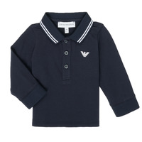 Clothing Boy Long-sleeved polo shirts Emporio Armani 8NHF07-1JPTZ-0939 Marine