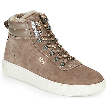 Shoes Women Hi top trainers TBS IMAGINE Taupe