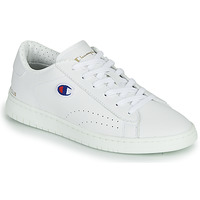 Shoes Women Low top trainers Champion COURT CLUB PATCH White / Beige