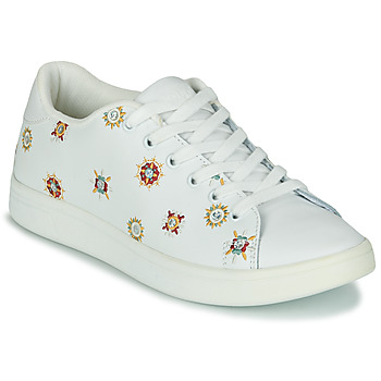 Shoes Women Low top trainers Desigual COSMIC_JULIETTE White
