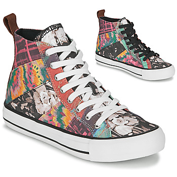 Shoes Women Hi top trainers Desigual BETA_HERITAGE Multicoloured