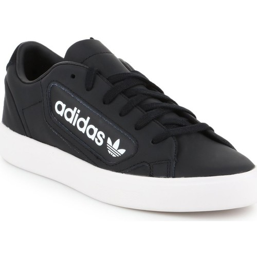 Shoes Women Low top trainers adidas Originals Adidas Sleek W EF4933 black