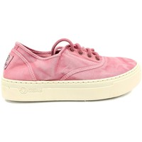 Shoes Women Low top trainers Natural World Basket Platform Rosa 603-6112E Pink