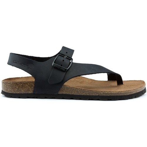Shoes Women Sandals Interbios INTERIOR SANDALS DENNIS 7162 BLACK