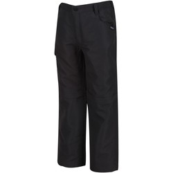 Clothing Children Trousers Regatta SORCER II Zip-Off Trousers Grey