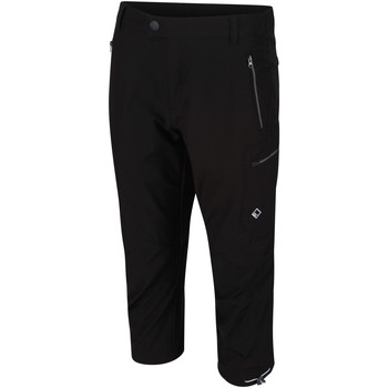 Clothing Men Trousers Regatta Highton Capri Trousers Black Black Black