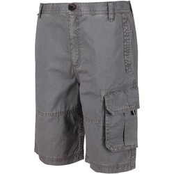 Clothing Children Shorts / Bermudas Regatta SHOREWALK Cotton Shorts Navy Grey Grey