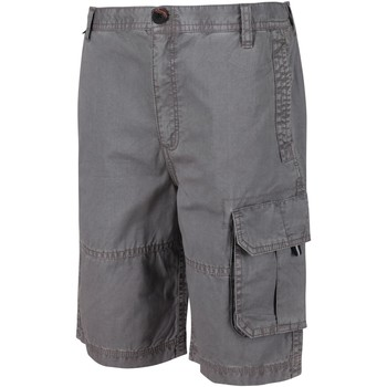 Clothing Children Shorts / Bermudas Regatta SHOREWALK Cotton Shorts Grey