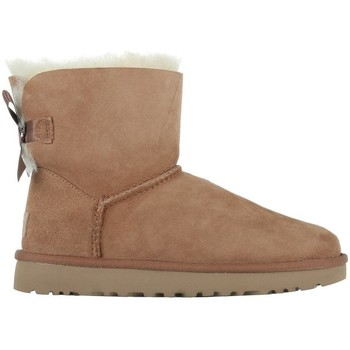 Shoes Women Snow boots UGG Mini Bailey Bow II Beige