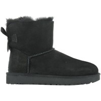 Shoes Women Snow boots UGG Mini Bailey Bow II Black