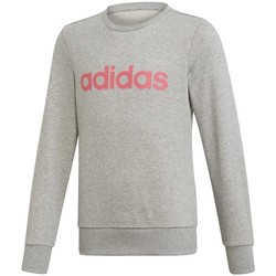 Clothing Children Sweaters adidas Originals Linear Grey