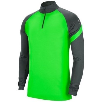 Clothing Men Sweaters Nike Dry Academy Dril Top Graphite,Green