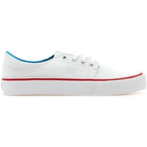 Shoes Women Low top trainers DC Shoes Trease TX White