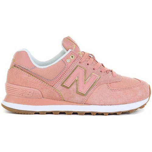 Shoes Women Low top trainers New Balance 574 Pink