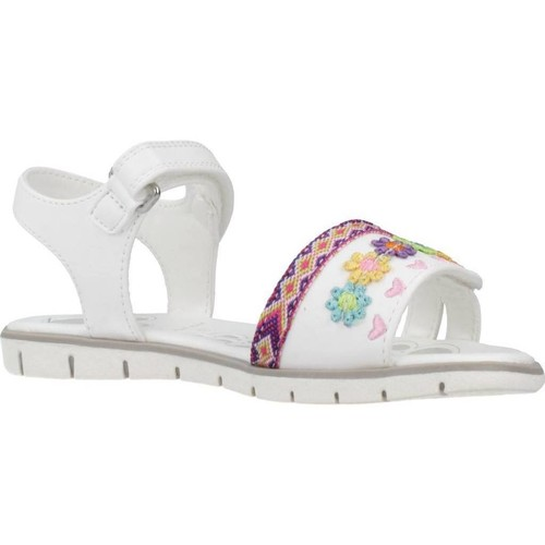Shoes Girl Sandals Chicco 1063626 White