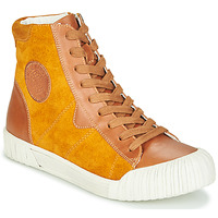 Shoes Women Hi top trainers Karston OMSTAR Ocre tan