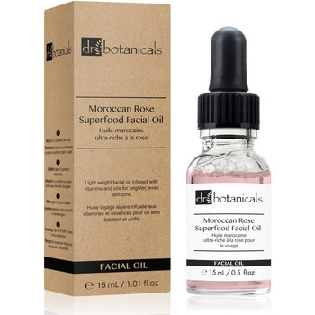 Beauty Hydrating & nourrishing  Dr Botanicals Moroccon Rose Superfood Facial Oil - Discovery Size (15ML)