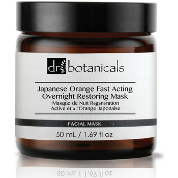 Beauty Masks & scrubs   Dr. Botanicals Japanese Orange Fast Acting Overnight Restoring Mask
