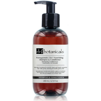 Beauty Hydrating & nourrishing  Dr. Botanicals Pomegranate 2-in-1 Nourishing Shampoo & Conditioner