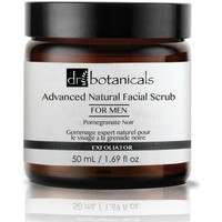 Beauty Removers & Cleansers Dr. Botanicals Pomegranate Noir Advanced Natural Facial Scrub for Men
