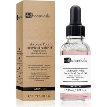 Beauty Hydrating & nourrishing  Dr. Botanicals Moroccan Rose Superfood Facial Oil (30ml)