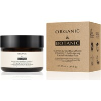 Beauty Hydrating & nourrishing  Dr Botanicals CARROT & SEA BUCKTHORNE MOISTURISER 50ml
