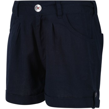 Clothing Children Shorts / Bermudas Regatta DELICIA Cotton Shorts Blue