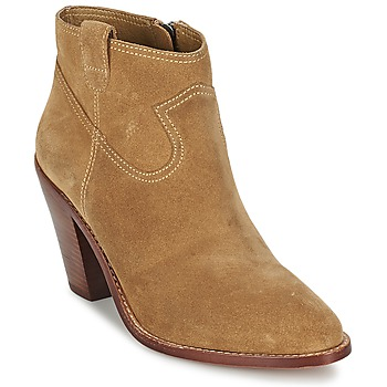 Shoes Women Ankle boots Ash IVANA CAMEL
